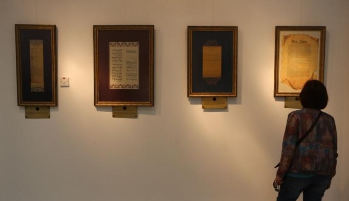 """""""Hala Sultan (r.a)"""" ve """"100. Yılında Kudüs"""" sergileri"""
