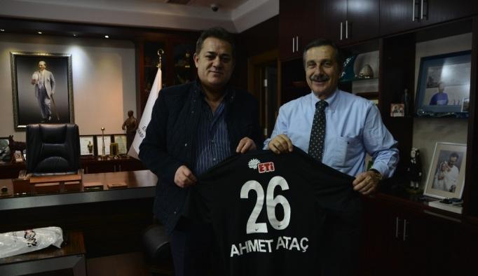 Halil Ünal'dan Ahmet Ataç'a ziyaret