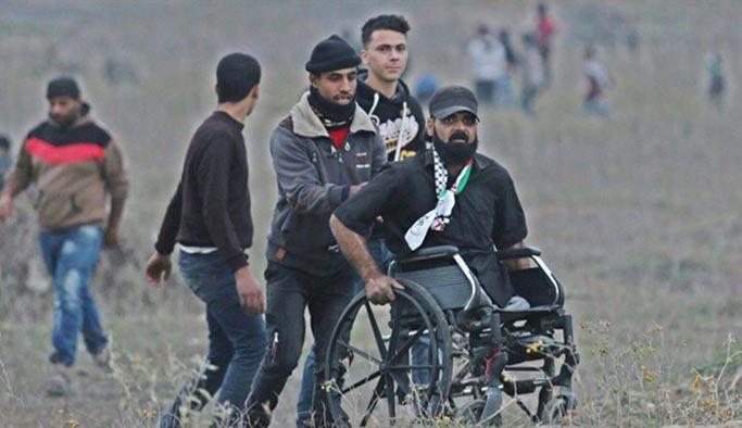 İşgalciler engelli göstericiyi de öldürdü