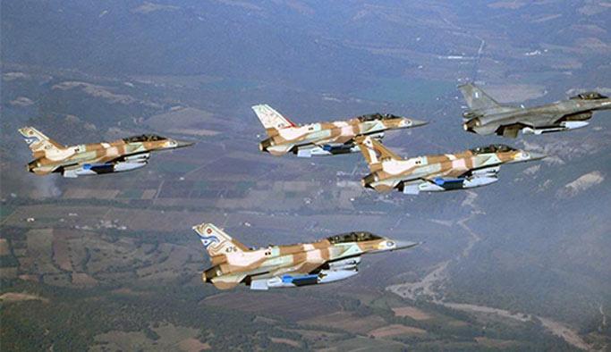 İsrail'den Gazze'ye hava bombardımanı