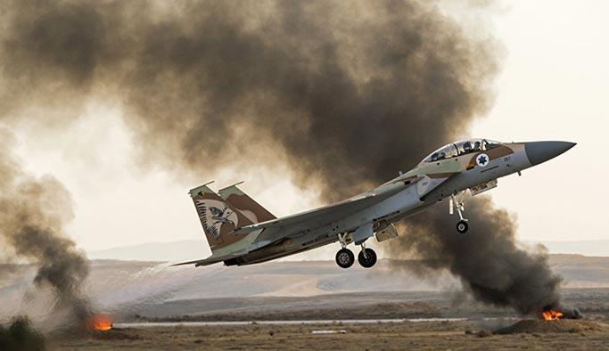 İsrail İran üssünü vurdu, Rus füzeleri karşılık verdi