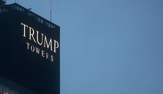İstanbul'da 'Trump' tabelaları kaldırıldı
