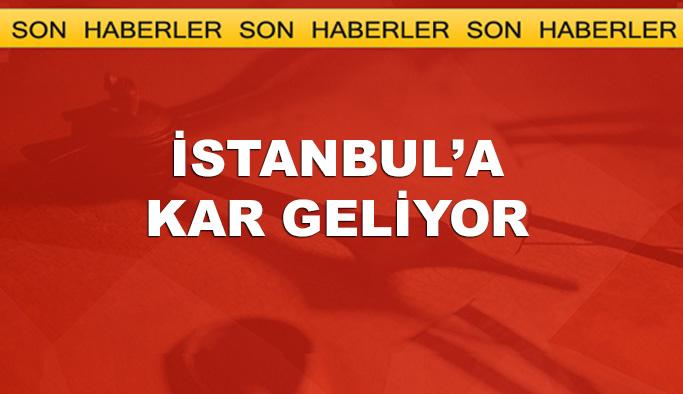 İstanbul için uyarı, kar geliyor