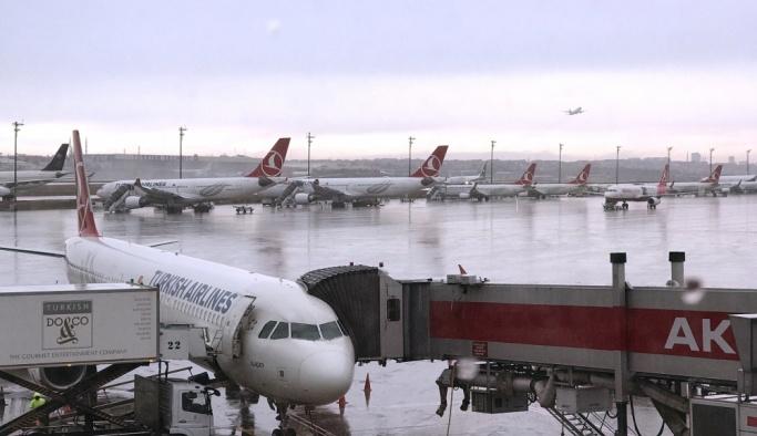İstanbul'da lodos ve yağmur