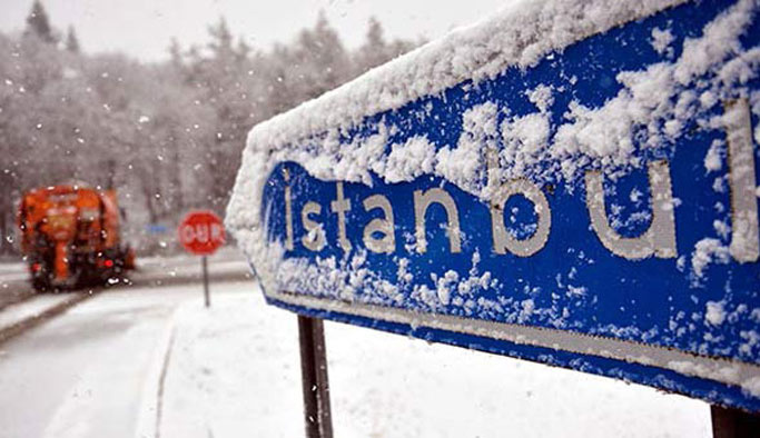İstanbullular dikkat! Kar kapıda