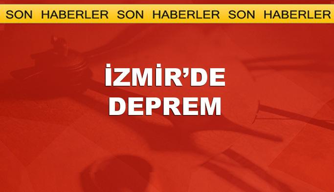 İzmir'de 4,8 büyüklüğünde deprem