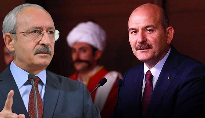 Kılıçdaroğlu'dan Soylu hakkında suç duyurusu