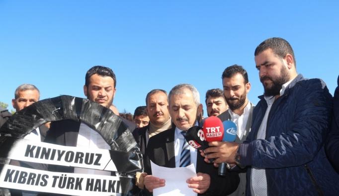 KKTC'de Erdoğan'a hakaret karikatürüne tepki