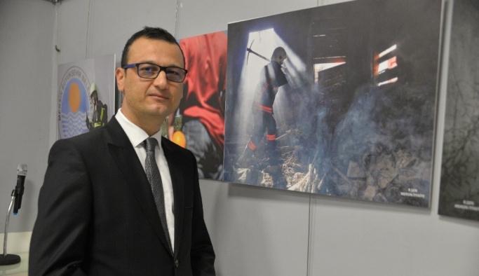 Mersin itfaiyesinin 'an'ları fotoğrafla ölümsüzleşti