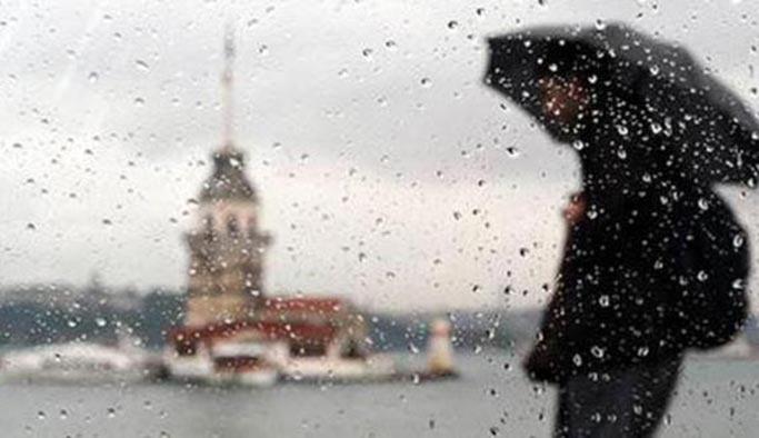 Meteoroloji ve AKOM uyardı, İstanbul'a sağanak geliyor