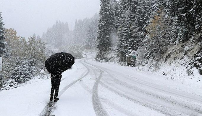 Meteorolojiden kar yağışı ve soğuk hava uyarısı