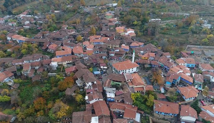Nüfusunun 70 katını ağırlayan Osmanlı köyü