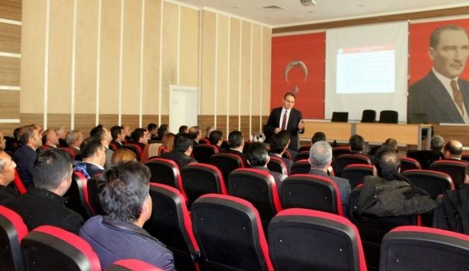 Ortaöğretim kurumlarının genel durumu değerlendirildi