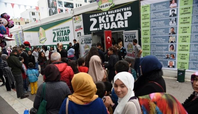 Osmaniye Belediyesi 2. Kitap Fuarı sona erdi