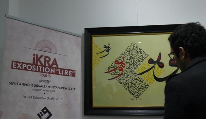 Paris'te İslam hat sanatı sergisi