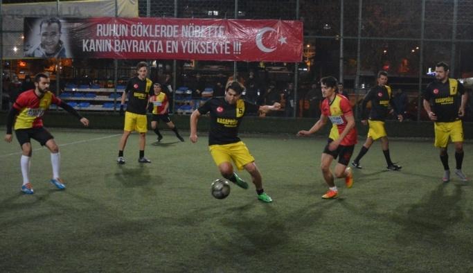 Şehit Oğuz Özgür Çevik Turnuvası'nda finalin adı belli oldu