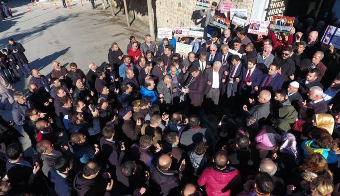 """Sinop'ta """"Kudüs"""" protestosu"""