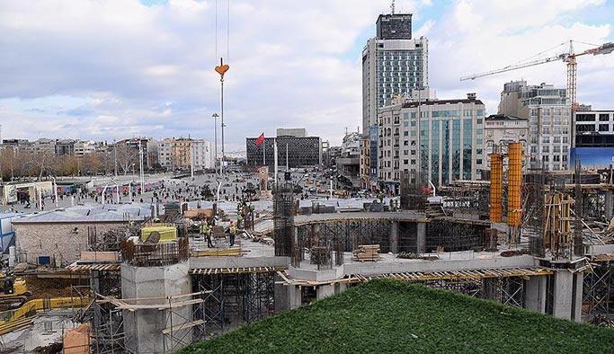 Taksim Camii'nde son durum