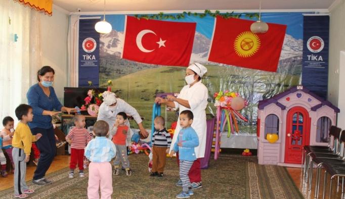 TİKA'dan Kırgızistan'daki yetimhaneye destek