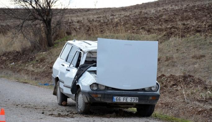Tokat'ta trafik kazası: 1 ölü, 5 yaralı