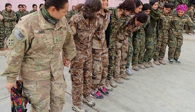 YPG'nin 'halay başı' Amerikalı asker