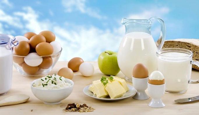 Yumurtayla peynir üretildi