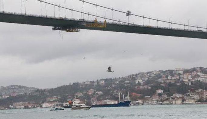 15 Temmuz Şehitler Köprüsü'nde intihar, kurtarılamadı