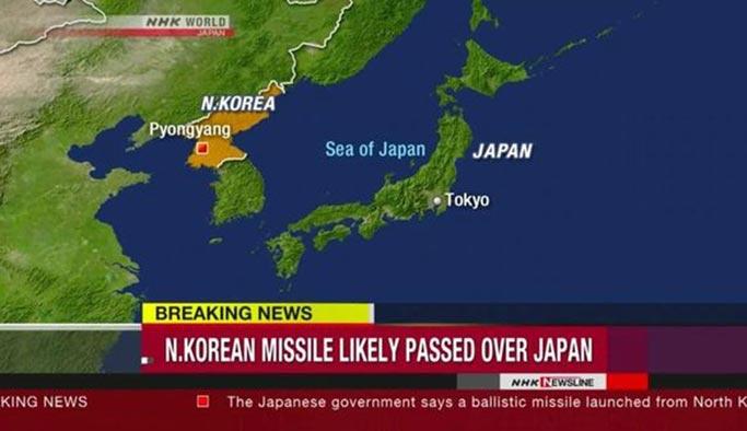 ABD ve Japonya'da 'füzeli saldırı' paranoyası