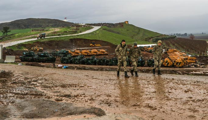 Afrin harekatında 3. şehit