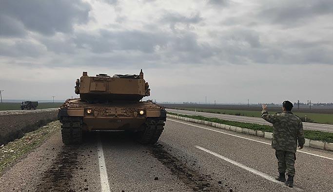 Afrin'den son dakika, 8 terörist öldürüldü