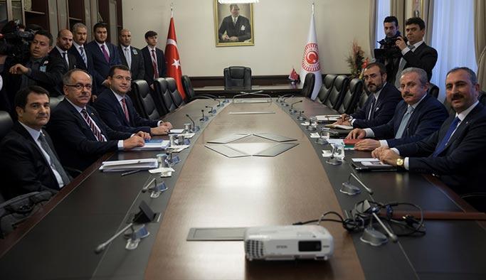 AK Parti-MHP buluşmasından sonra ilk açıklama