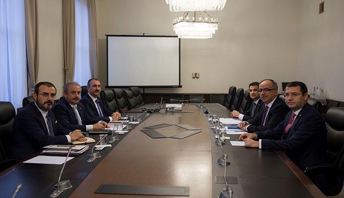 AK Parti-MHP ittifakında ilk görüşme başladı