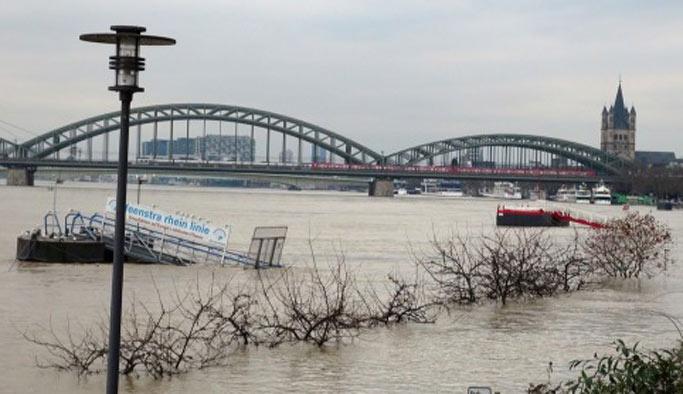 Almanya'nın aşırı yağışla imtihanı