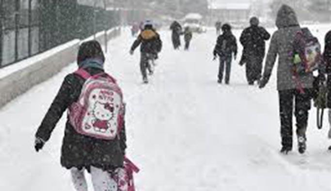 Ardahan Posof'ta eğitime kar engeli