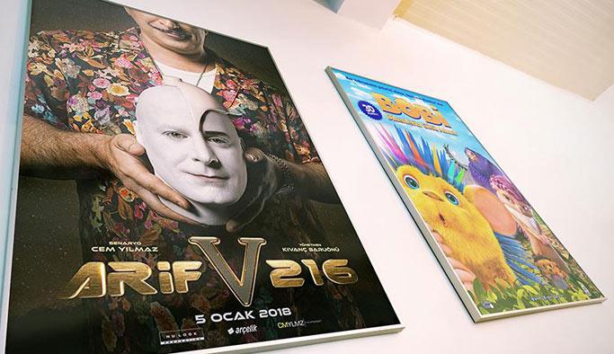 'Arif V 216' bu hafta vizyona giriyor