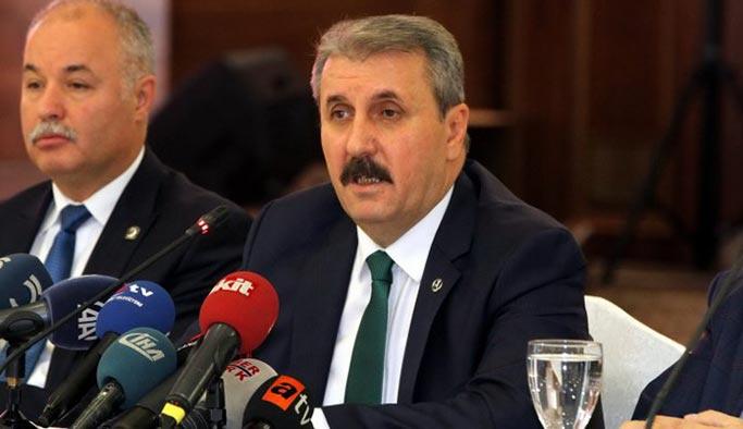 BBP'den MHP-AK Parti ittifakına tam destek
