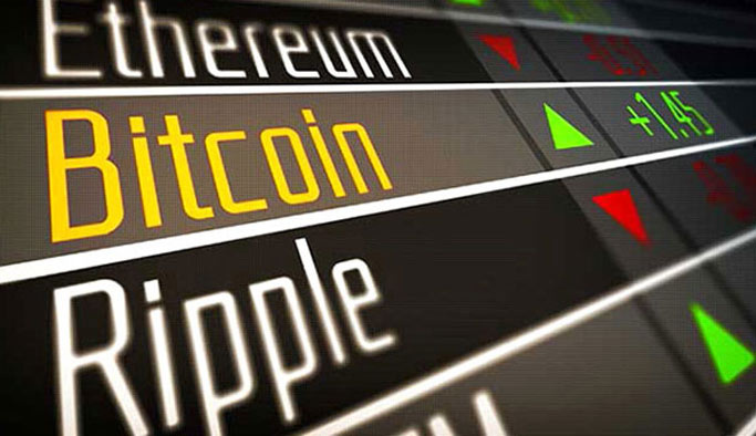Beş büyük kripto para biriminden dördü düşüşte