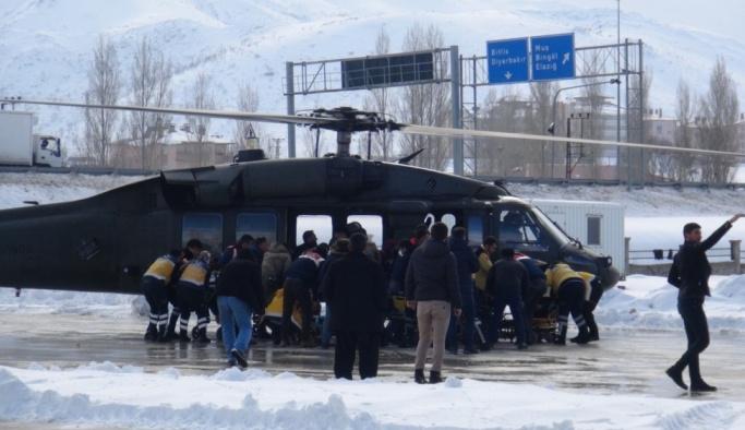 Bitlis'te operasyondaki askerlerin üzerine çığ düştü: 2 şehit, 6 yaralı
