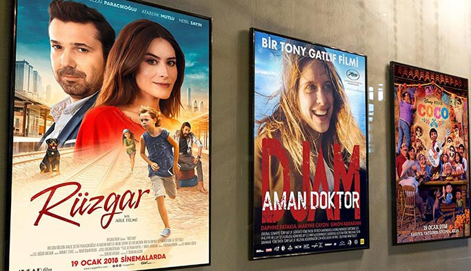 Bu hafta 3'ü yerli 6 film vizyona girecek