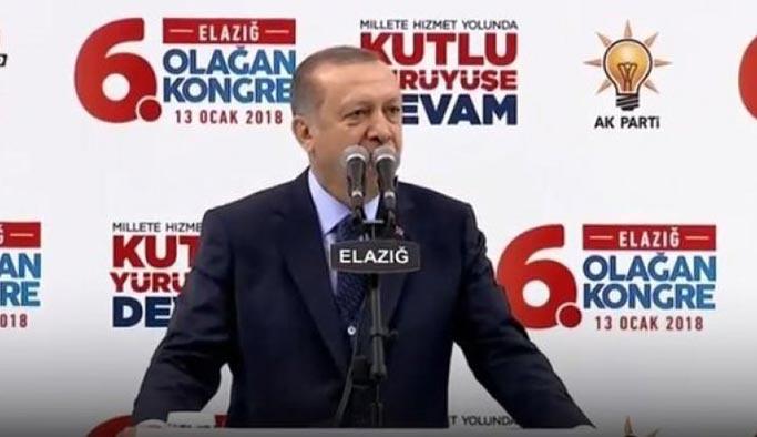 Cumhurbaşkanı Erdoğan:  Afrin'i başlarına yıkacağız
