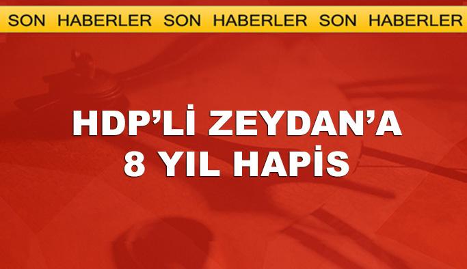 Demirtaş'ın hücre arkadaşı Zeydan'a 8 yıl hapis