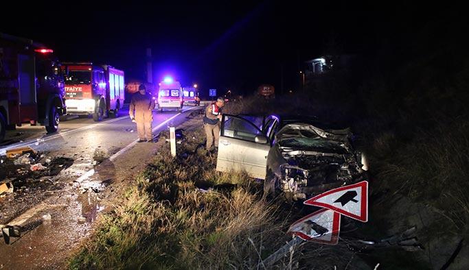 Dört ayrı şehirde trafik kazası, ölü ve yaralılar var