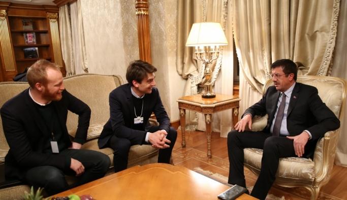 Ekonomi Bakanı Zeybekci Davos'ta
