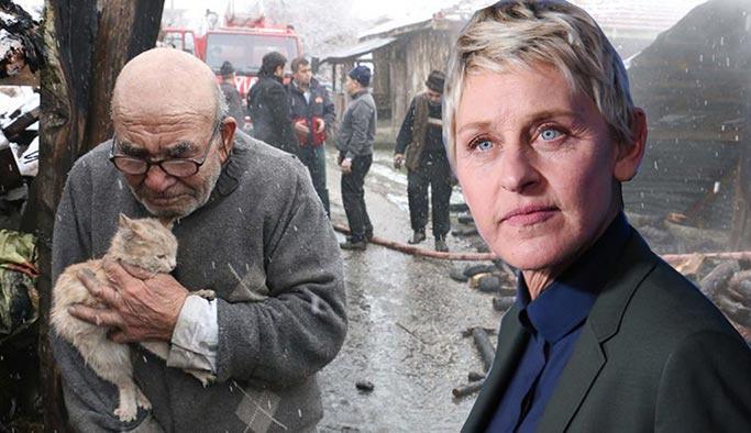 Şovmen Ellen, Bolulu Ali Dede'nin videosunu paylaştı