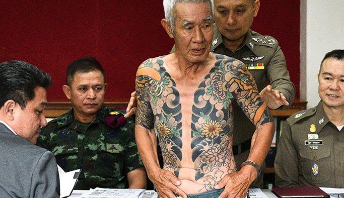 Emekli Yakuza lideri böyle yakalandı