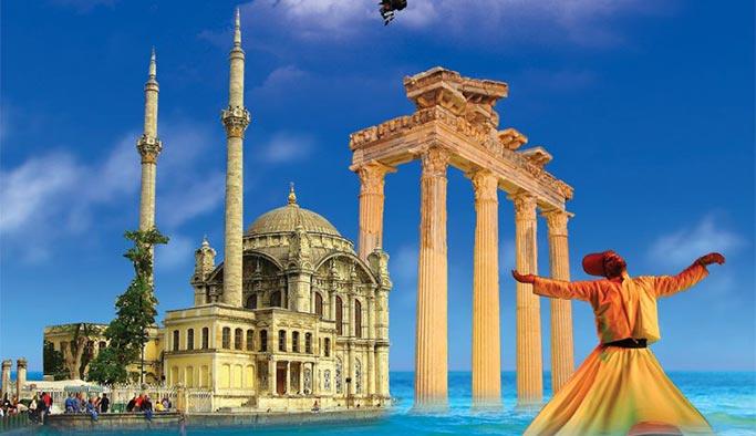 Engellemelere rağmen turistler Türkiye'den vazgeçmedi