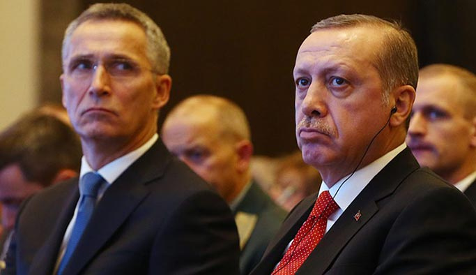 Erdoğan'dan NATO'ya Suriye telefonu