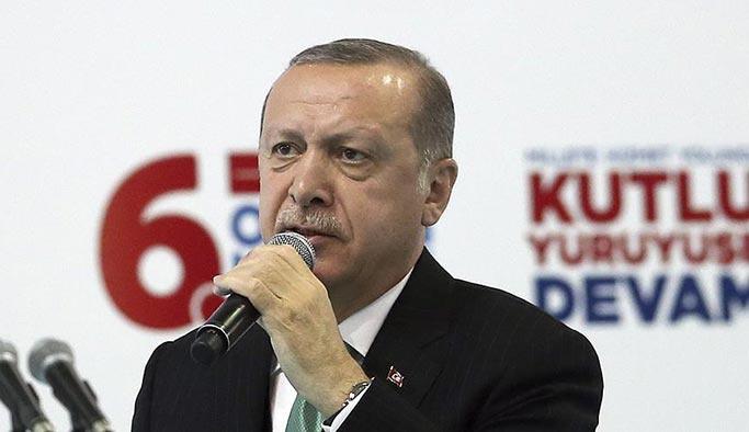 Erdoğan'dan Son Dakika Afrin açıklaması: Harekat fiilen başladı