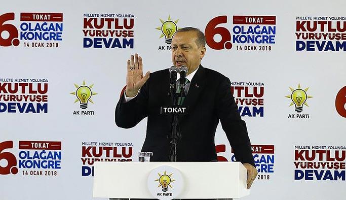 Erdoğan: Operasyonlarımızı Afrin ile sürdüreceğiz
