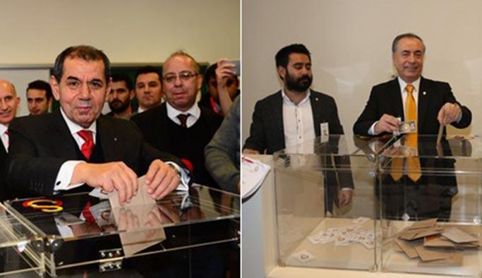 Galatasaray'da oy kullanma sona erdi, sandıklar açılıyor